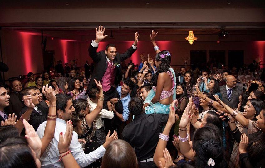 Indian Wedding Reception with Beach Boyz Entertainment