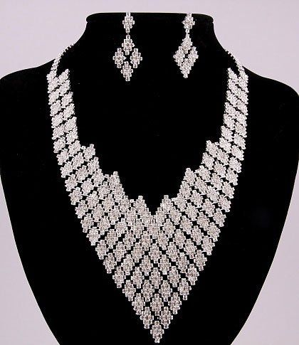 Tmx 1259694887383 Flowerrhinstoneset Baltimore wedding jewelry