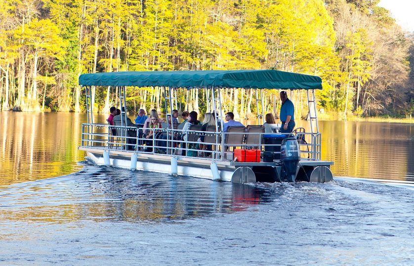 wedding boat ride nc