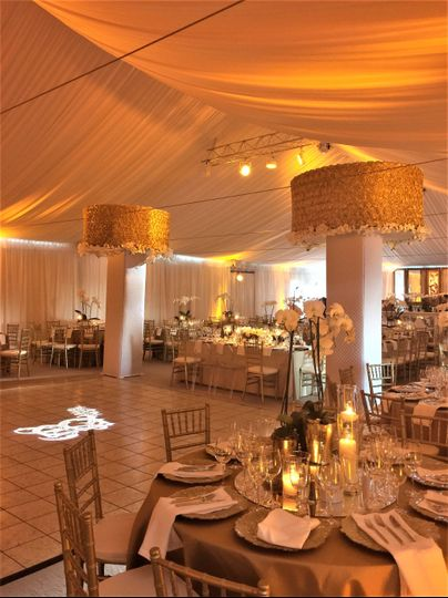 Ceiling tent liners