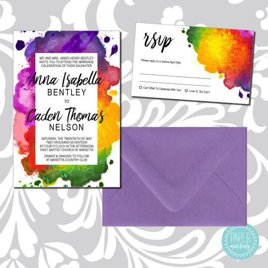 weddinginvitations annawatercolor