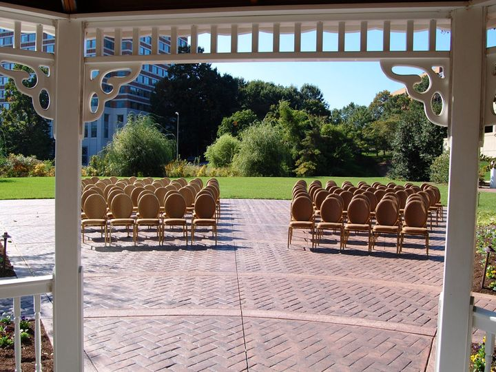 Tmx Gazebo Ceremony 51 71796 Alexandria, VA wedding venue