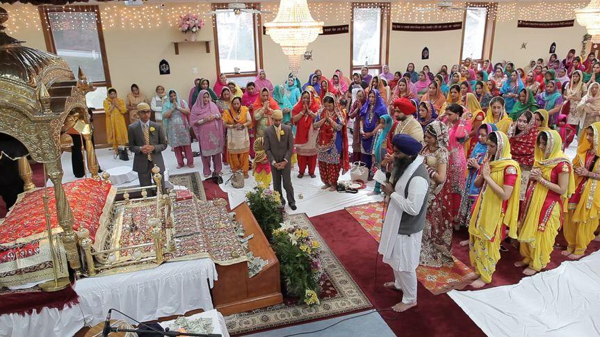 navpreet and harmeet ceremony