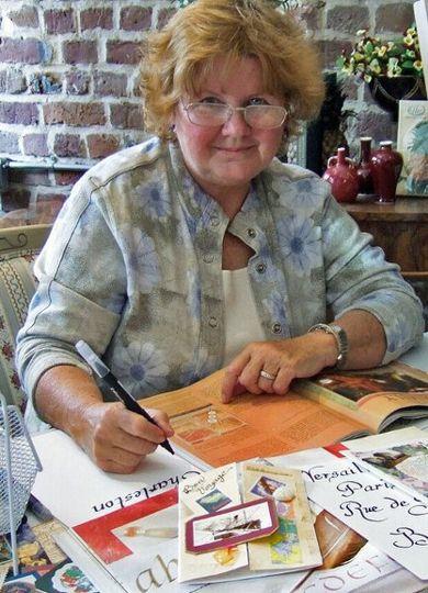 Calligrapher, Natasha Lawrence