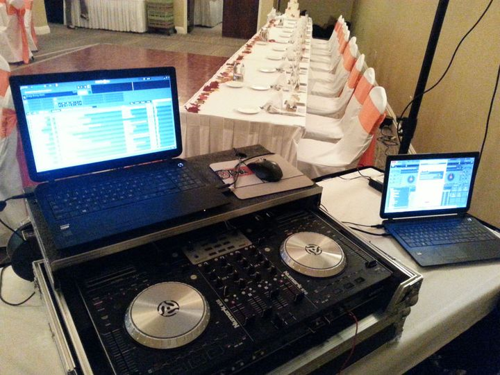Event sample setup