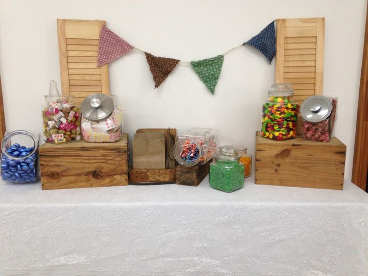 Old Fashioned Candy Buffet