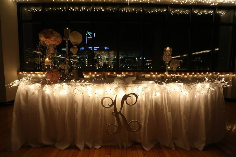 Head Table fit for a King and his Queen