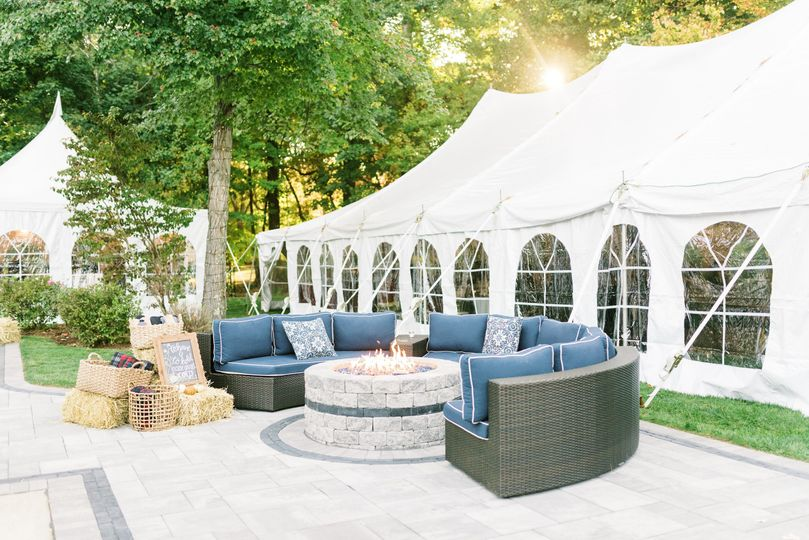 Canopy Tent for a Wedding!