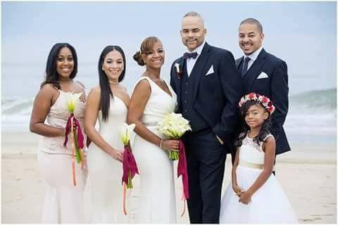 Couple & Wedding attendants
