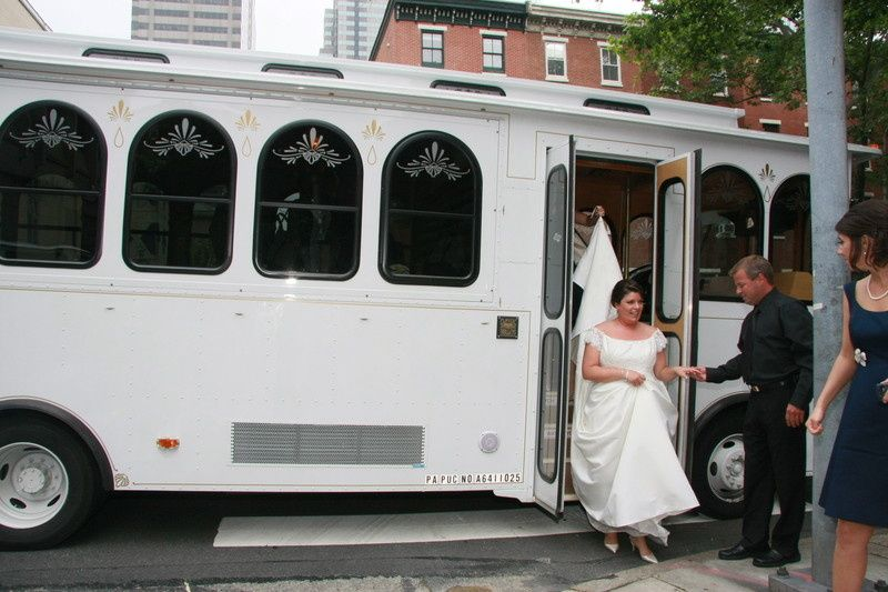 The bridal car
