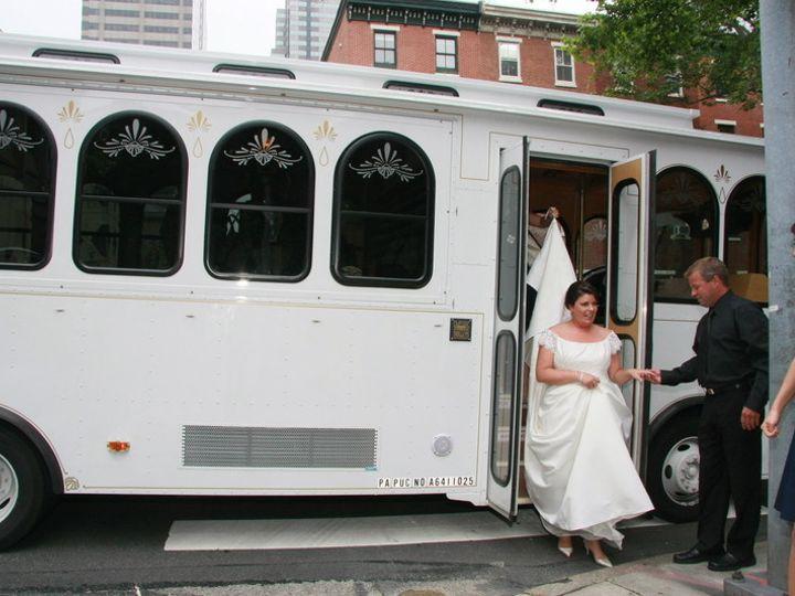 Tmx 1431444236271 Cescaphne Trolley Philadelphia, Pennsylvania wedding transportation
