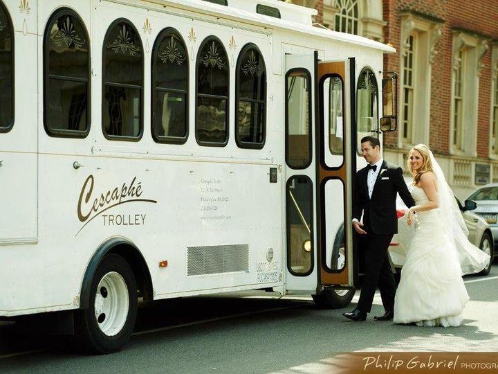 Tmx 1432316629249 007philipgabrielphotography 1trolley Philadelphia, Pennsylvania wedding transportation
