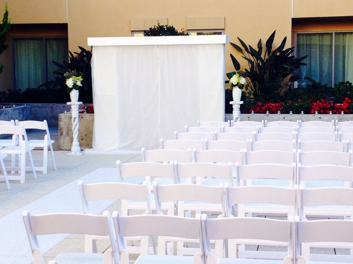 Wedding Ceremony on The Deck