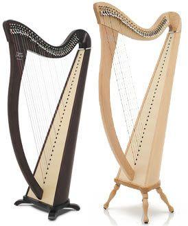 breton lever harp