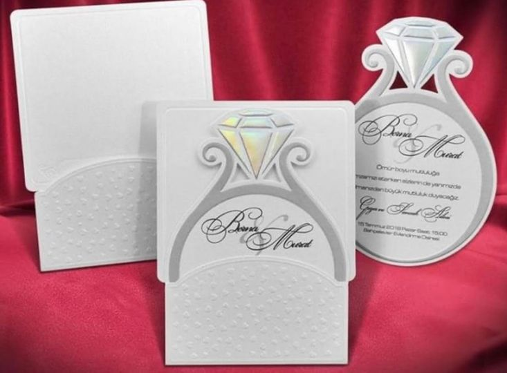 Ring theme invitations