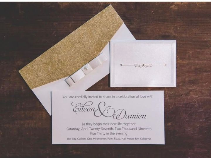 Tmx 0 1 51 107796 1569345093 Wynnewood, PA wedding invitation