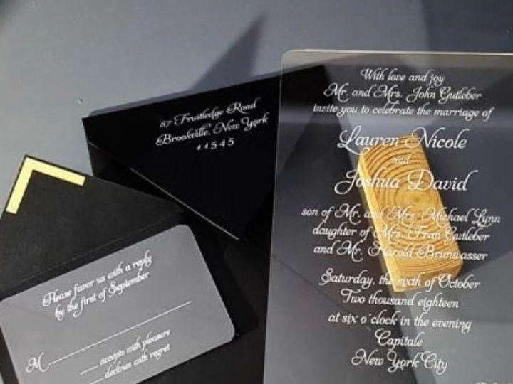 Tmx 0 5 51 107796 1569344305 Wynnewood, PA wedding invitation