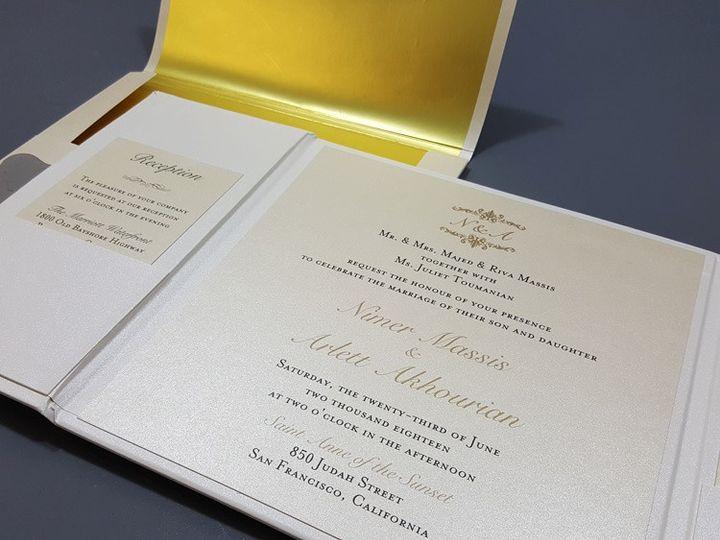 Tmx 1104 Hd 51 107796 1569378084 Wynnewood, PA wedding invitation