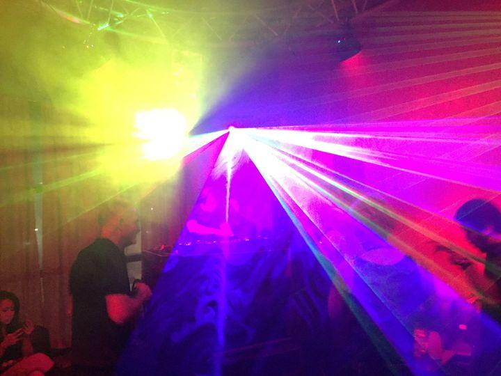 Laser lighting