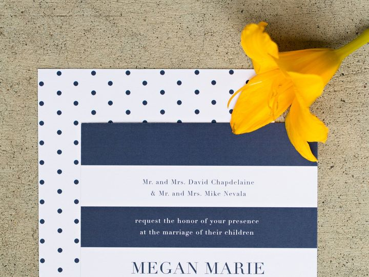 Tmx 1438122955309 Dlvtheinvitationpost11 Forest Lake wedding invitation