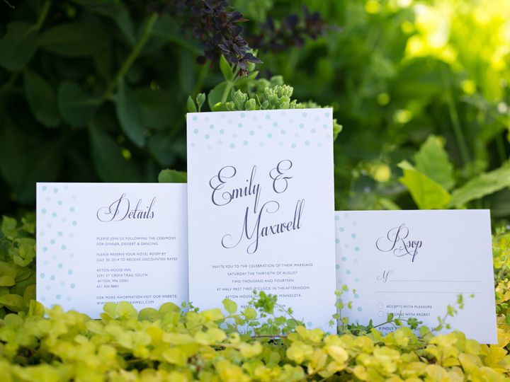 Tmx 1438123620403 Dlvtheinvitationpost48 Forest Lake wedding invitation