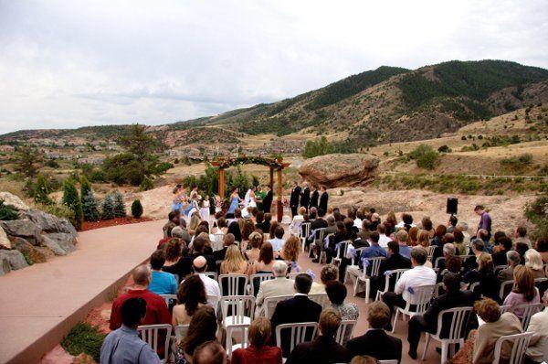 Wedding between the Red Rocks