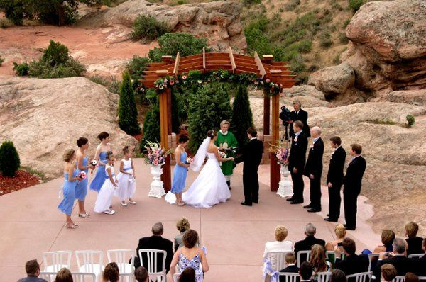Ceremony proper in the outdoors