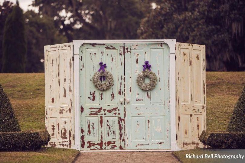 Wedding door