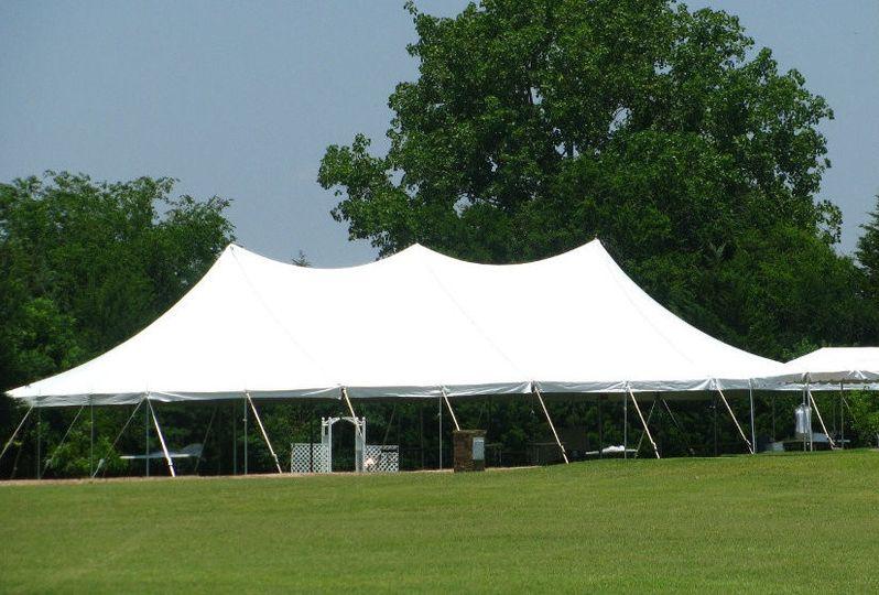 Wedding big tent