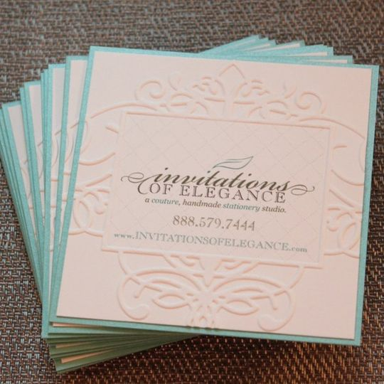 Invitations of Elegance