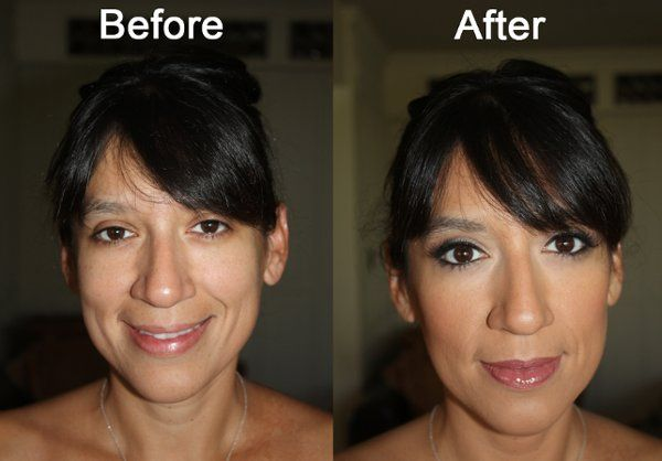 "Bridal Trial Makeup - ""Before & After"""