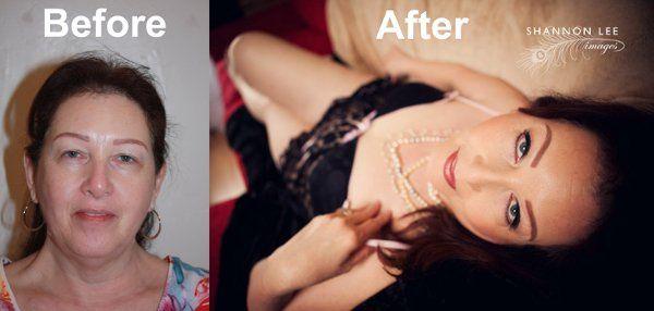 Boudoir Makeup as Bridal Trial Makeup