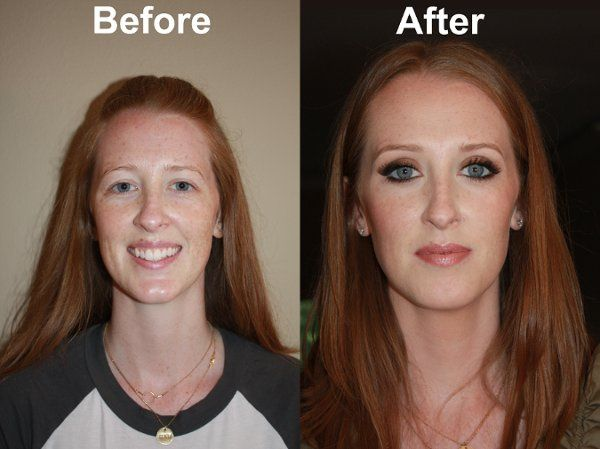 Bridal Trial Makeup - Before & After