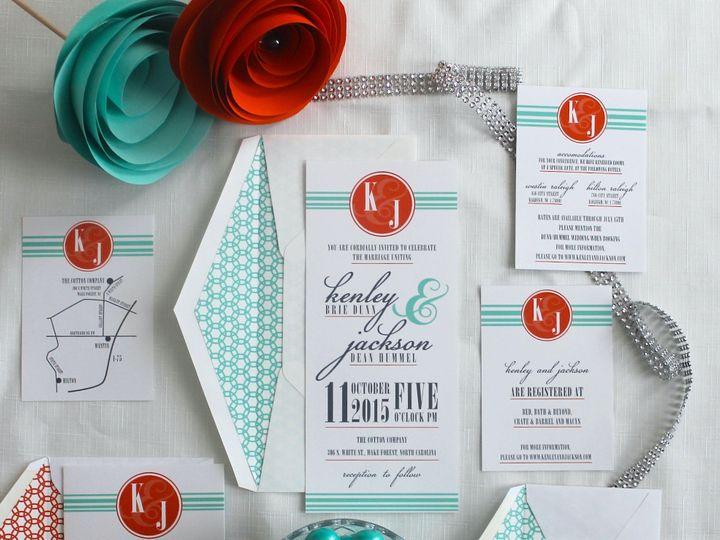 Tmx 1424790299199 Img5848 Holly Springs wedding invitation
