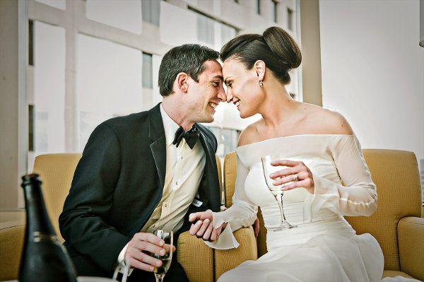 Minneapolis Marriot City Center Wedding Photograph
