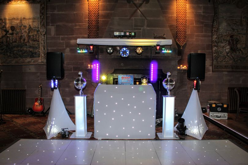 White wedding disco package A