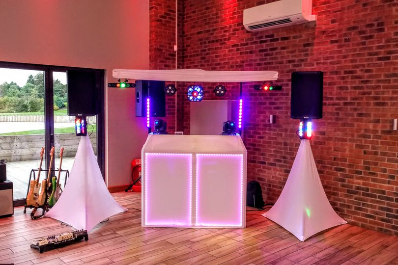 White wedding disco package B