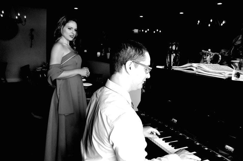 Ingrid and pianist Joseph play together around Indianapolis.