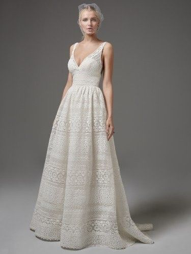 Tmx 1493046652430 Eyelet Lace Maggie Sottero Austin, TX wedding dress