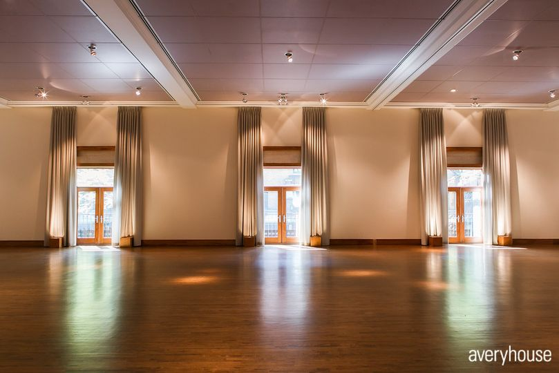 Ivy Room empty ballroom looking west Photo Credit: Avery House http://galleries.averyhouse.net