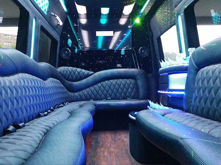 Tmx 1500999452455 15 Passenger Sprinter Limo Brooklyn wedding transportation