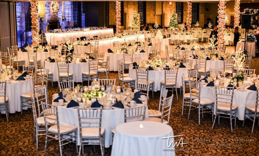 Ballroom Holiday Wedding