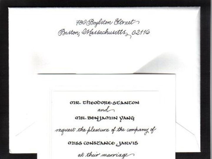 Tmx 1328199175395 Gayinviteset1 Cape Cod, MA wedding invitation