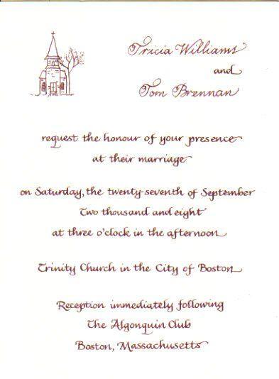 Tmx 1328199335012 Williamsinvite Cape Cod, MA wedding invitation
