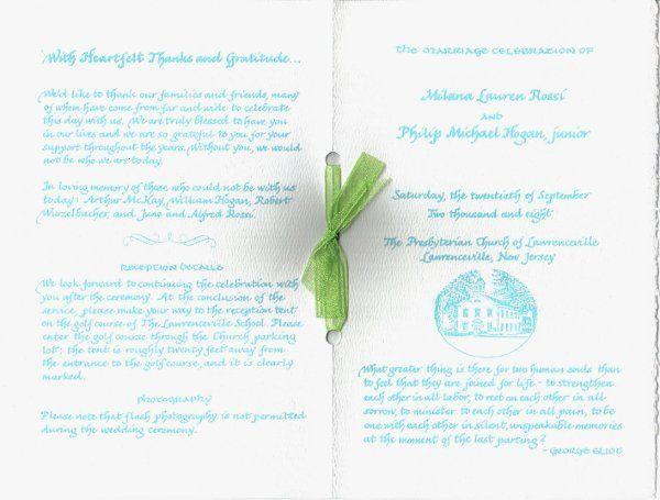 Tmx 1328199372016 Program4a Cape Cod, MA wedding invitation