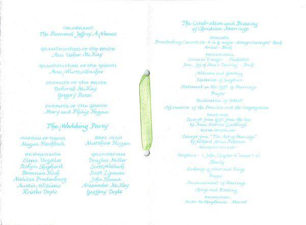 Tmx 1328199405476 Program4b Cape Cod, MA wedding invitation