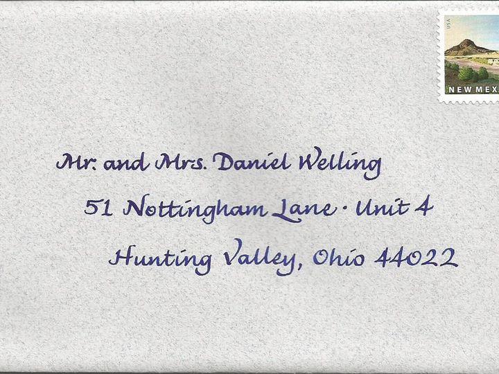 Tmx 1416324440844 Finehand Envelope Cape Cod, MA wedding invitation
