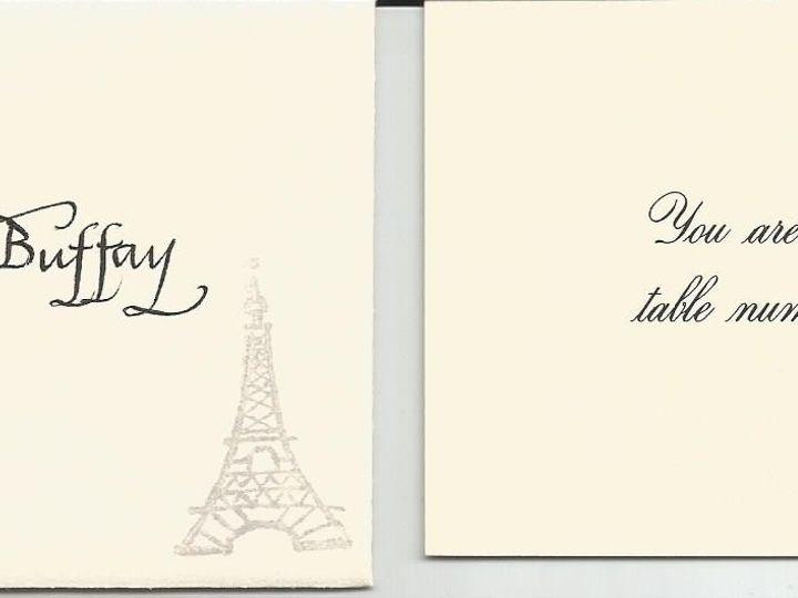 Tmx 1425996659222 Wren Table Card Cape Cod, MA wedding invitation