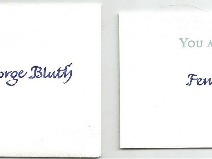 Tmx 1425996664544 Humanistic Table Card Cape Cod, MA wedding invitation