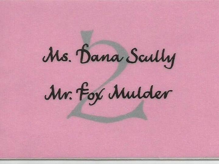 Tmx 1425996673361 Ifc Table Card Cape Cod, MA wedding invitation